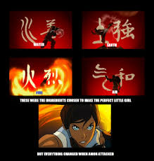 Perfect Girl Meme - ingredients to create the perfect girl avatar the last airbender