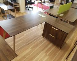 Modern L Shape Desk by Modern L Shaped Desk With Lateral File Cabinet Toronto New