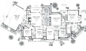 large home floor plans large ranch style house plans ranch style house plans with large
