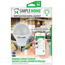 simply conserve light bulbs dimmable smart wi fi led bulb go simple home