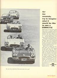 corvette magazine subscription vues magazine 1960 corvette magazine ad1960 corvette