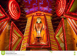 Decoration Of Durga Puja Pandal Night Image Of Decorated Durga Puja Pandal Kolkata West Bengal