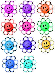 Smiley Flowers - accents