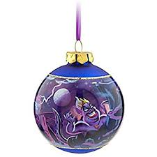 disney parks villains ornament with ursula