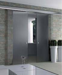 Interior Glass Sliding Doors Full Glass Frameless Glass Interior And Internal Doors Elegant Doors