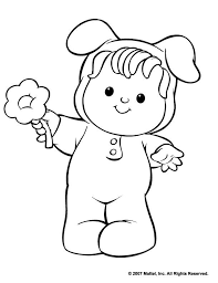 free fisher price spring coloring sheets printable 3