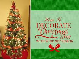 christmas slim christmas tree time how to decorate withbbon