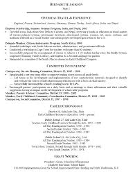 Sample Resume For Early Childhood Assistant by Early Childhood Education Resume 15 Ece Educator Resume Objective