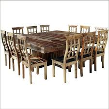 Large Dining Room Table Seats 12 Large Square Dining Room Table Seats 12 Attractive Modern Square