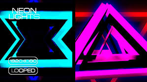 neon lights motion background vj pack by albertusluki videohive