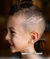 how to blend a lads a hair barber hair cut with a design to match this handsome boys mood