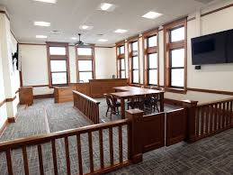 photos johnson county courthouse u0027s renovated courtroom