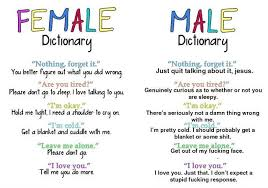 Dictionary Meme - female vs male dictionary weknowmemes