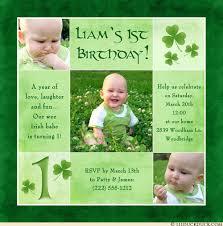 irish birthday invitation wording ideas st patricks day card verses