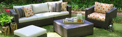 amazon com ae outdoor all weather wicker biscayne deep seating