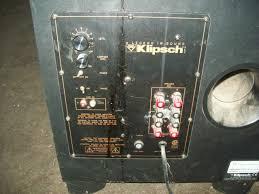 klipsch quintet home theater system klipsch speaker system surround sound w amplifier 5189 klipsch