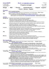 Validation Engineer Resume Sample Materials Engineer Cv Vincent Fetzer