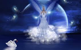 blue princess angel background wallpapers angel background