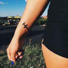 58 best micro tattoos images on pinterest bracelet cross