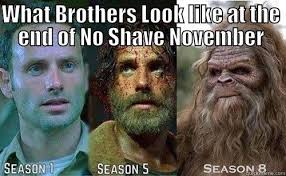 No Shave November Memes - the stages of no shave november quickmeme