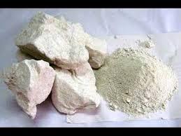 edible white dirt clay dirt babypowder chunks