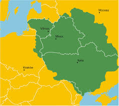 Map Of Lithuania The Grand Duchy Of Lithuania In The 15th Century Imgur