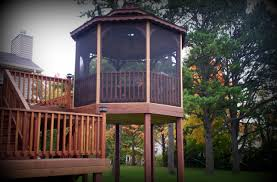 Wooden Screen Gazebos by Pergola Gazebo Or Pavilion Wood Shade Structures For Comfort