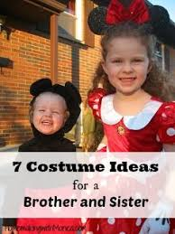 Brother Sister Halloween Costume 18 Matching Halloween Costumes Images
