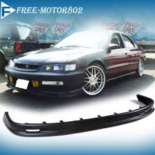 97 honda accord lights for 96 97 honda accord front bumper lip spoiler bodykit mugen