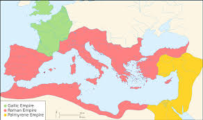 World Map No Labels by The Roman World Monarchy Republic Empire And Collapse