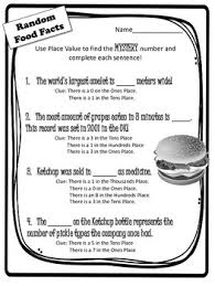 place value mystery number mystery number math worksheets mystery number a year 4 puzzles