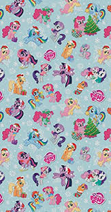 my pony wrapping paper my pony christmas roll wrap 4m co uk office products
