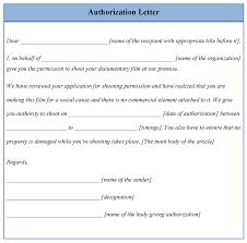 Authorization Letter For Proof Of Billing For Credit Card Authorization Letter Model Authorization Letter Sample