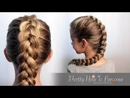 scunci easy plait how to braid hair tutorial