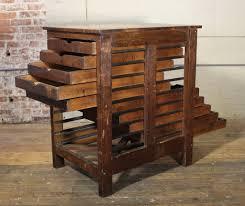 antique printers cabinet antique furniture