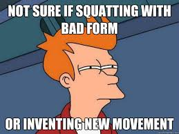 Squat Meme - improve your squat ryan munsey