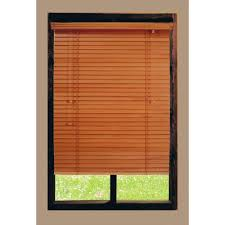 home decorators collection golden oak 2 in basswood blind 23 in