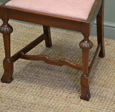 Solid Walnut Dining Chairs by Quality Set Of Six Antique Edwardian Solid Walnut Dining Chairs C
