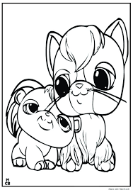 littlest petshop coloring pages free 14