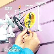 how to install security light how to install flood lights install flood light in tree forexlife club