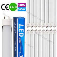48 inch led light bulb 10 100 pack 18w 48 inch 4ft led fluorescent tube light bulb g13 t8