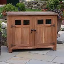 Patio Storage Cabinets Sideboards Glamorous Outdoor Sideboard Cabinet Outdoor Sideboard