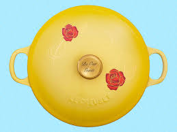 le creuset is releasing more u0027beauty and the beast u0027 cookware