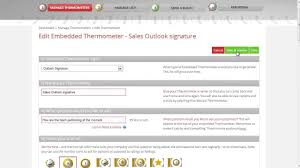 Free Email Signature Templates by Outlook Email Signature Surveys With Customer Thermometer Short