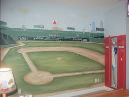 sports murals for bedrooms kids teen boys sport rooms design pictures remodel decor and