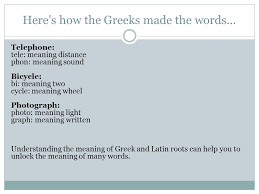what is the latin root meaning light greek and latin roots greek and latin roots greek and latin words