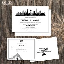Thailand Wedding Invitation Card Thailand Wedding Invitation Bangkok Destination Wedding