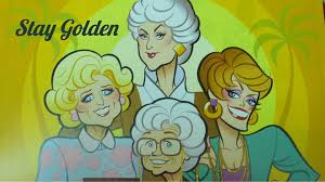 the golden girls cartoon hd wallpaper fullhdwpp full hd