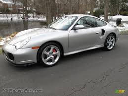 porsche 911 turbo silver 2002 porsche 911 turbo coupe in arctic silver metallic 686374
