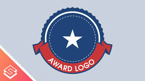 logo ribbon inkscape tutorial circular ribbon with text award logo